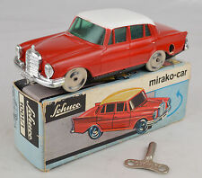 "Vintage Schuco #1001/1 Mercedes Mirako Auto 4 3/4"" Long Western Germany Ex W/Box"