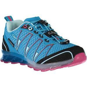 CMP Running Sports Shoes Kids Altak Trail Shoes Wp Blau Waterproof