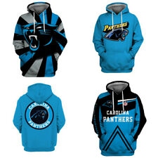 Carolina Panthers Hoodie Fans Pullover 3D Hooded Sweatshirt Sports Casual Jacket