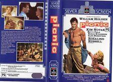 PICNIC - Holden / Novak - VHS - PAL - NEW - Never played! - Original Oz release