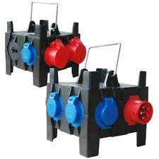 PCE Mobilverteiler IMST tragbar 2xCEE16A/5 4xSSD, Gerätestecker 16/5 - 9030010