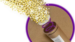 Spring-Loaded Glitter Bomb