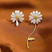 1 Pair Sunflower Stud Ear Drop Dangle Flower Long Earrings Women Jewelry Gifts