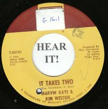 Marvin Gaye/Kim Weston MOTOWN 45-Tamla 54141-It Takes Two /It's Got To Be A VG++