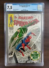 THE AMAZING SPIDER-MAN #64 (1968) CGC 7.5 WHITE PAGES