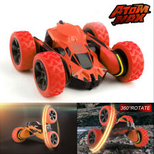 Remote Control RC Car 360° Flips Rotate Stunt 4WD High Speed Off-Road Kids Toy
