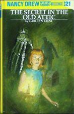 Nancy Drew: The Secret in the Old Attic  # 21 by Carolyn Keene 1955, Hardcover