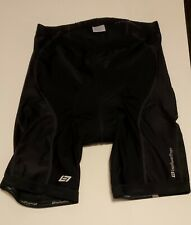 BELLWETHER Cycle Bicycle Shorts Black Compression Padded Size 2XL XXL