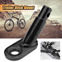 Sunlite Steel Bicycle Bike Trailer Rear Replace Axle Hitch Mount Adapter Black