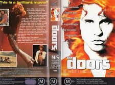 THE DOORS - An Oliver Stone film   VHS-PAL-NEW-Never played!-Original Oz release