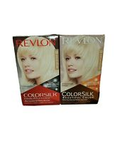 2- Revlon ColorSilk Beautiful Color Permanent Hair Dye 03 Ultra Light Sun Blonde