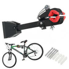 Bench Mount Pro Bike Repair Stand w/ Clamps Arm Cycle Bicycle Rack Kit Tool
