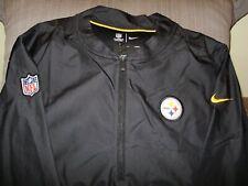 e599f6767 NFL Pittsburgh Steelers Nike Dri-Fit Repel Lockdown 1 2 Golf Jacket Men s  Medium