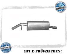 Endschalldämpfer Auspuff Peugeot 207 1.4i 1360ccm 90PS 66kW Motor// ET3J4