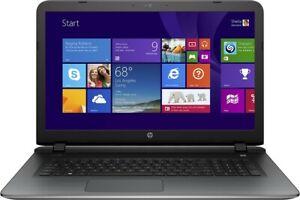 "Huge 17.3"" HP 17-g015dx Core i7-5500U 6GB RAM 750GB HDD HDMI Windows 10"