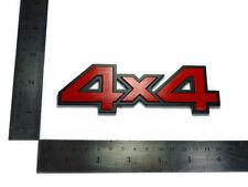 4X4 LOGO EMBLEMS BADGE DECALS PLATE STICKER DMAX HILUX VIGO RANGER BT50 NAVARA
