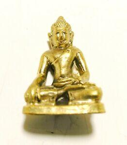 Thai Antique Phra Hoo Yarn Buddha Grace Amulet Holy Talisman Fetish Magic Lucky
