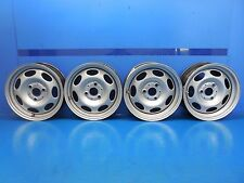 Smart Car Fortwo Passion Pure OEM Set Front & Rear Wheels Rims 15x4.5 & 15x5.5