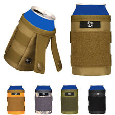 Tactical Molle Bottle Pouch Bottle Beer Cans Cover Sport Mini Kettle Bag Outdoor