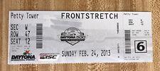 2013 Daytona 500 Nascar Ticket Danica Patrick Pole Winner  Jimmie Johnson Winner