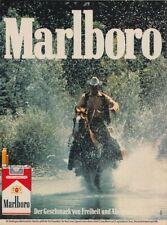 Marlboro Zigaretten - Reklame Werbeanzeige Original-Werbung 1982 (7)