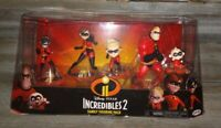 BRAND NEW Disney PIXAR INCREDIBLES Family Figurine Pack Action Figures