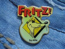 Pin Pins Fritz! Fritz!Card by AVM USB ISDN-Modem Logo Maskottchen hellgrün/blau