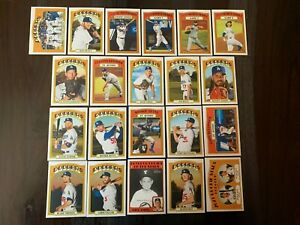 2021 TOPPS HERITAGE BASE TEAM SET - PICK THE TEAM(S) YOU NEED FREE/FAST SHIP