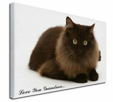 More details for browny black cat 'love you grandma' x-large 30