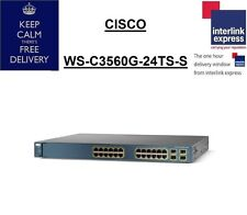 Cisco Catalyst WS-C3560G-24TS-S V03 Managed Switch