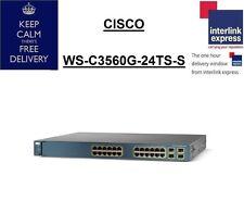Cisco Catalyst WS-C3560G-24TS-S V02 Managed Switch
