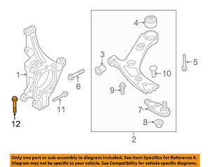 KIA OEM 11-13 Sorento Steering Gear-Outer Tie Rod Cotter Pin 1430003257B