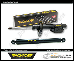 MONROE GT Gas Rear shockers for FORD FALCON, FAIRMONT BA Stationwagon 15-0510