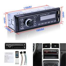 1 DIN Car Stereo Radio Bluetooth In-dash Head Unit Player FM MP3/USB/SD/AUX