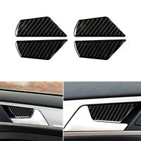 Door Handle Bowl Cover For VW Golf 7 MK7 VII GTI R 2013-17 Carbon Fiber Sticker