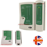 RJ45 CAT5e CAT6 RJ11 Network Cable Tester Ethernet LAN PC Wire Lead Testing Tool