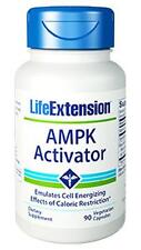 FOUR X $24.75 LOWEST PRICE! Life Extension AMPK Activator anti aging fights fat