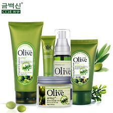 Brand 5Pcs Olive Extract Face Skin Care Set Mask Toner Facial Eye Hand Cream