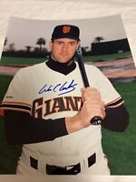 Will Clark San Francisco Giants Autograph signed photo 8x10