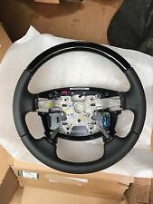 Range Rover Sport 10-13 Land Rover LR4 10-17 Steering Wheel Piano Black Wood