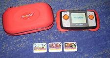 VTech MobiGo Komplett-Set mit Spielen und Tasche Super Spass V Tech