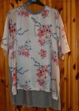 Marks and Spencer Ladies Short Sleeve Ivory Top / Jumper Size 16