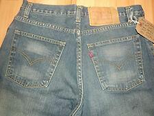 """LEVIS 501 Coupe Droite Jeans W34"""" L31"""" M. bleu effet vieilli (ORIGINAL) 25"""