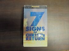 "NEW SEALED VHS MOVIES ""7 Signs Of Christs Return""   (G)"