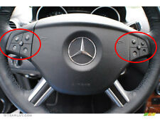 Mercedes Benz GL 320 Steering Wheel Black Button Repair Decal Stickers