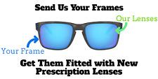 Custom Prescription Lenses for Oakley Holbrook OO9102 - Rx Replacement Lenses