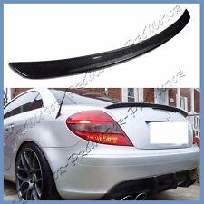 A Type Carbon Fiber Rear Spoiler Wing Fit 05-10 M Benz R171 SLK280 SLK55 SLK350