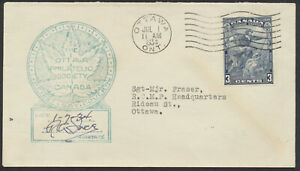 1934 #208 Jacques Cartier FDC, Ottawa Philatelic Cachet, Ottawa Machine Cancel