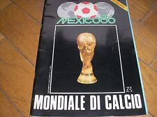 SPECIALE MUNDIAL MEXICO 86 MONDIALE CALCIO 1986 POSTER WORLD CUP FIFA ALL TEAM