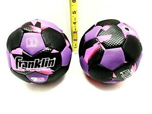 Lot of 2 Franklin 30165 Micro Size Weight Grip-Rite 400 Soccer Ball New
